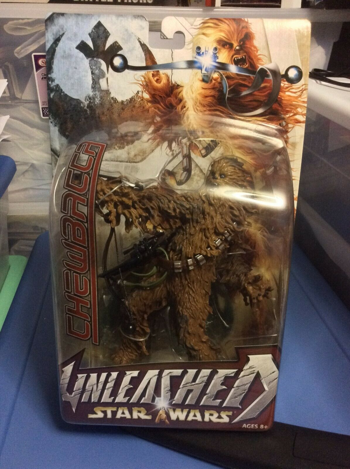 Star Wars Unleashed Chewbacca 9  Figure with Bowcaster From A New Hope