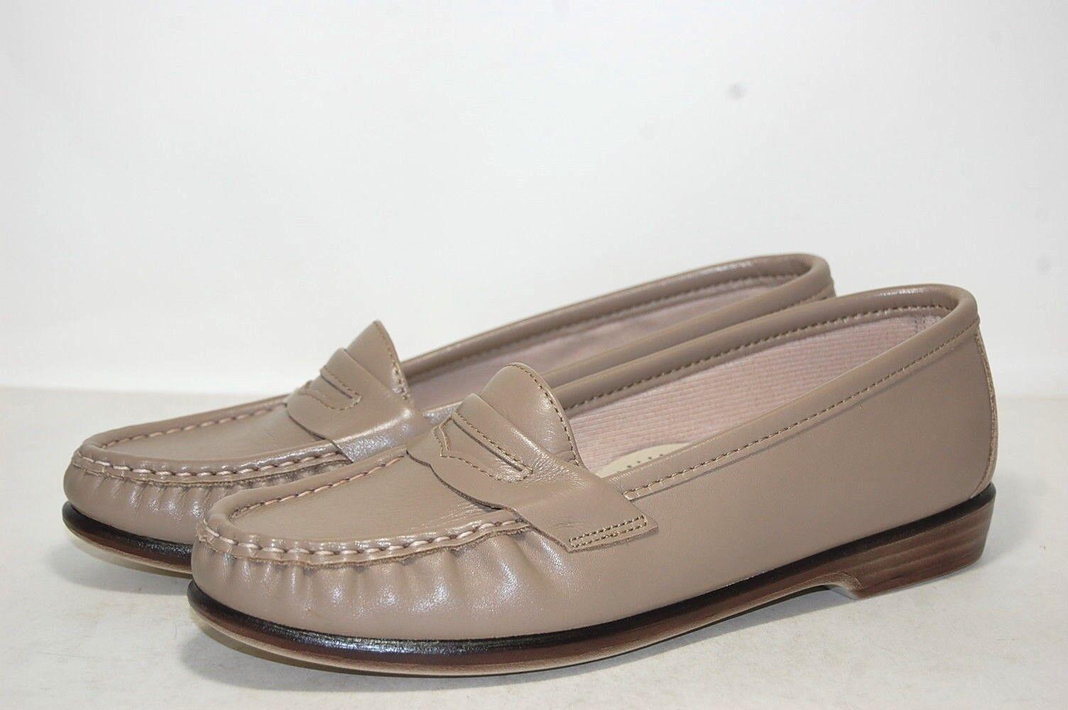 Original SAS Wink Mocha Leather Leather Leather W wide 0094-015 Women cacada