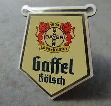 Bayer Leverkusen  Pin / Pins: Logo Ball nit GAFFEL Kölsch - Kult!