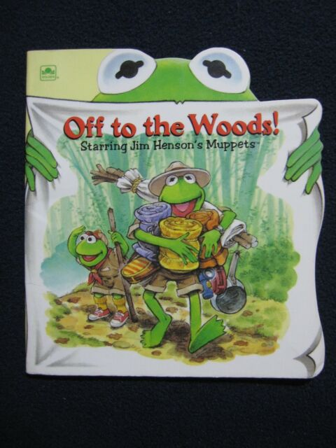 Muppets/Off to the Woods (Little Super Shape Book) [Sep 01, 1993] Golden Books