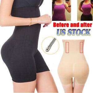 7c938805e2 High Waist Tummy Control Panty Women Body Shaper Girdle Slimmer ...