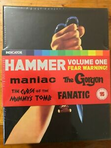 Hammer-Volume-One-1-Fear-Warning-Indicator-Box-Set-OOP-New-amp-Sealed-Blu-Ray