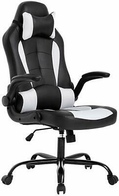 Peachy Racing Gaming Chair Ergonomic Leather Swivel Office Computer Desk Seat With Foot Ebay Gmtry Best Dining Table And Chair Ideas Images Gmtryco