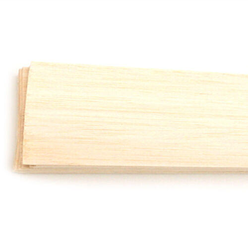 Balsa Wood Cubiio Material Test 20 Sheets 100x80x1mm EXCELLENT QUALITY Model