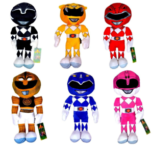 "POWER RANGERS 10/"" Plush Action Figure SOFT TOY"