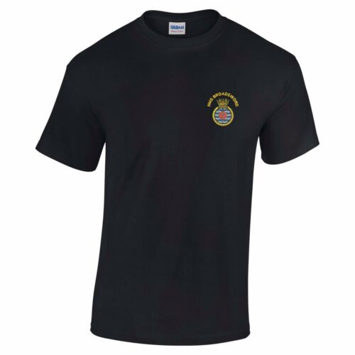 HMS Broadsword Embroidered T-Shirt