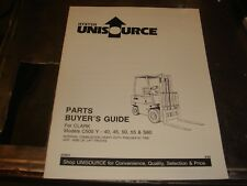 Hyster C500 Y 35 45 50 55 S60 Forklift Parts Guide Manual Book Catalog