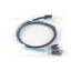 New Mini SAS SFF-8087 36Pin to 4 SATA 7PIN HD Splitter Breakout Cable 100cm Blue
