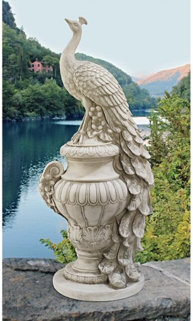 Delicieux Peacock Garden Statue Home Decor Ornament Outdoor Lawn Sculpture Yard  Figurine