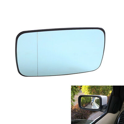 BMW 3 SERIES E91 316i 318d 2008 DOOR WING MIRROR GLASS BLUE HEATED LEFT