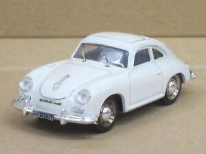 Porsche-356-coupe-en-Blanc-avec-Liens-Pilotage-Pfuit-1-43-O-neuf-dans-sa-boite