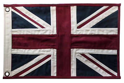 Merchant Navy Red Ensign Fully Sewn Vintage-Look Display Only Flag 49cm x 33cm