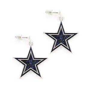 DALLAS-COWBOYS-Crystal-Earrings-SPARKLE-amp-SHINE-NFL-Football-Blingl