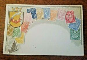 CHINA-National-Series-Ottmar-Zieher-Stamps-Postcard-UNUSED-23