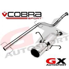 VA14 Cobra Sport Vauxhall Astra G Hatchback 98-04 Cat Back Exhaust Resonated