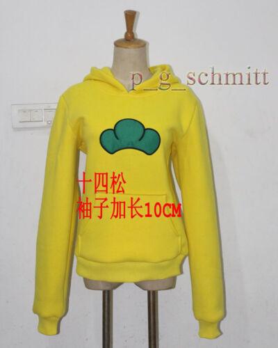 SIX SAME FACES Konya wa Saikou Mr.Osomatsu San Hoodie Jacket Sweater Cos Costume