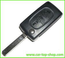 3-Tasten Klapp-Schlüssel Peugeot 607 208 207 307 308 407 3008 Gehäuse clé key