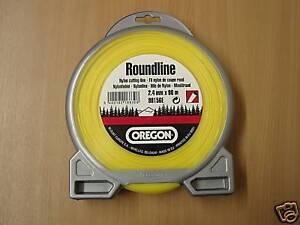 OREGON-ROUNDLINE-yellow-strimmer-trimmer-brushcutter-line-2-4mm-x-90metres