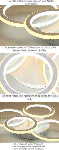 LED Deckenleuchte Fernbedienung Sparsam A Deckenlampen dimmbar Beleuchtung A2
