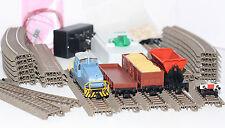 Trix H0 21523 Startpackung Bauzug mit Diesellok DHG 500 + 3 Güterwagen Neu