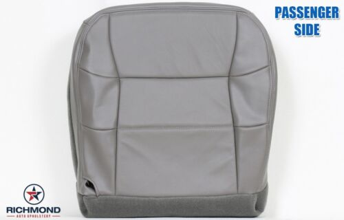 2002 Lincoln Navigator PASSENGER Side Bottom Replacement LEATHER Seat Cover Gray