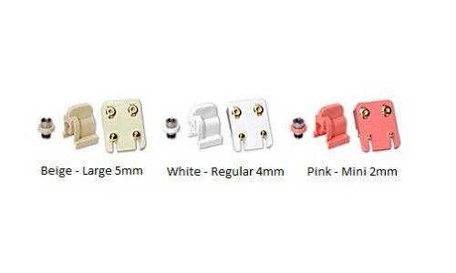 12 pares STUDEX Perforación del Oído Mezclado Piedras Acero Aretes configuración de garra