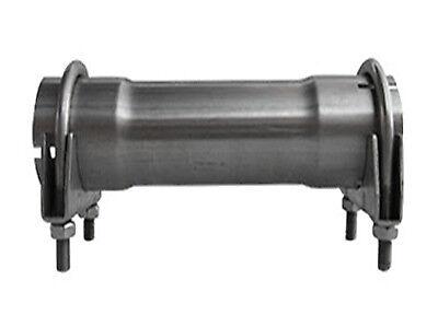 Rohrverbinder 57 mm innen Länge 200 mm Auspuff Rohr Muffe Bügelschellen