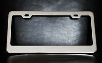 Personalized License Plate Frame, Custom Made Of Chrome Plated Metal