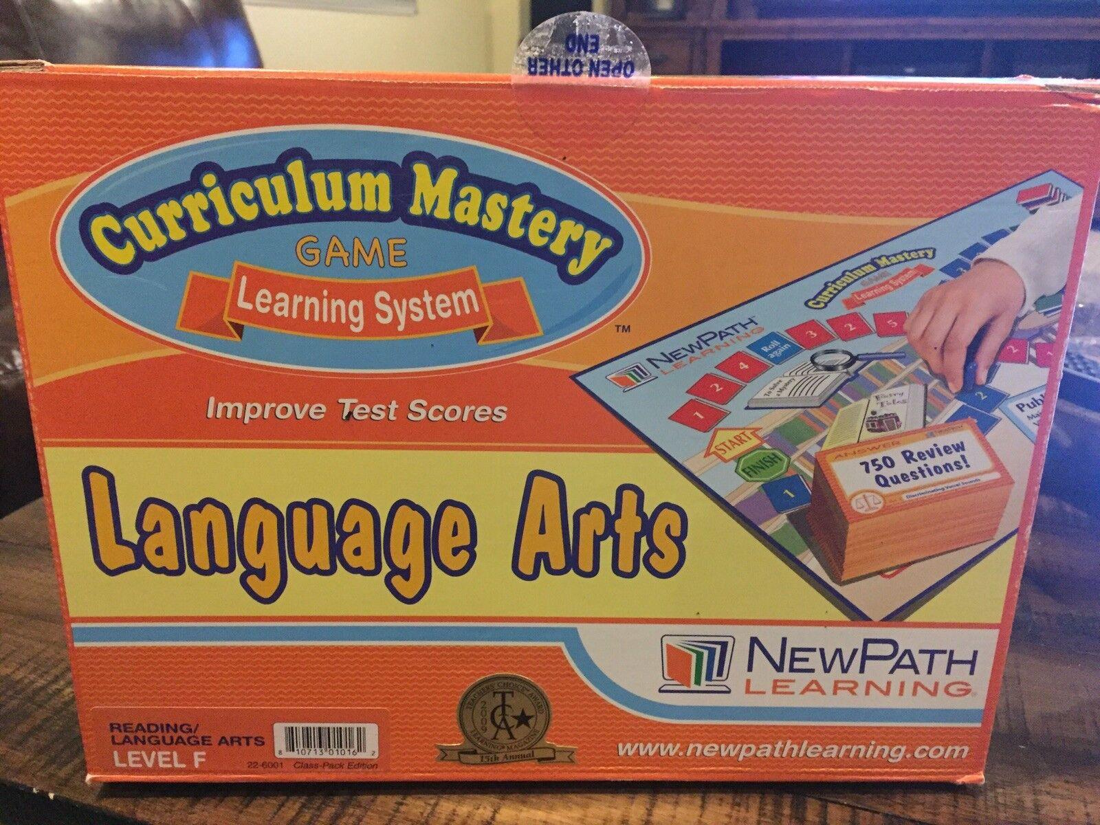 servicio considerado Nuevo sistema de de de aprendizaje de ruta Artes de lenguaje plan de estudios de grado 6 Juego de maestría nivel F  buena reputación