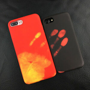 best website 5747c 049eb Details about Novelty Color Change Heat Sensitive Case Cover For iPhone 6S  7 Samsung S8 plus