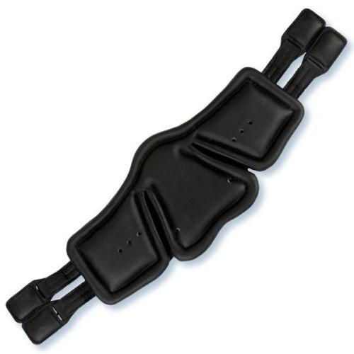 % Stübben Equi-Soft Sattelgurt elastisch Polster schwarz spezial schwarz Polster tobacco ebony % 58d2f5