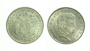 pci2950-AUSTRIA-20-Kreuzer-1848-A