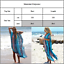 Womens-Short-Sleeve-Bikini-Cover-Up-Loose-Pullover-Beach-Wear-Tunic-Maxi-Dresses thumbnail 2