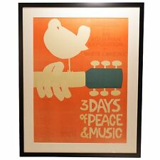 Original Woodstock Poster in a Brand New Frame
