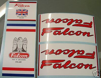 Falcon set of decals vintage