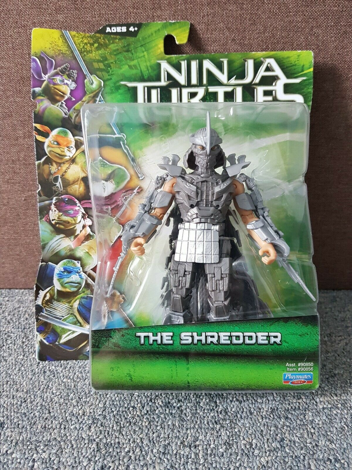 TMNT THE SHrojoDER MOVIE LINE Nickelodeon