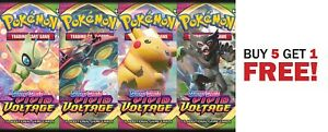 Vivid Voltage Sword & Shield Booster Pack Pokemon English PreOrder | 1 pack