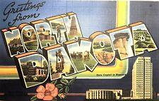 Vintage Postcard of North Dakota, circa 60s, 74827