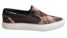 Converse Skid Grip EV Plaid Slip On Mens Trainers Canvas Shoes 100367 M4