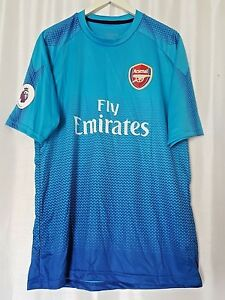 quality design 07d1a 8e657 Details about Fly Emirates Jersey Arsenal with Barclays Premier League  Patch size XL