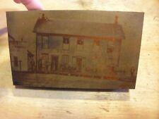 The Valley House Shenandoah Hotel 1880 Historic Iowa Printing Press Block