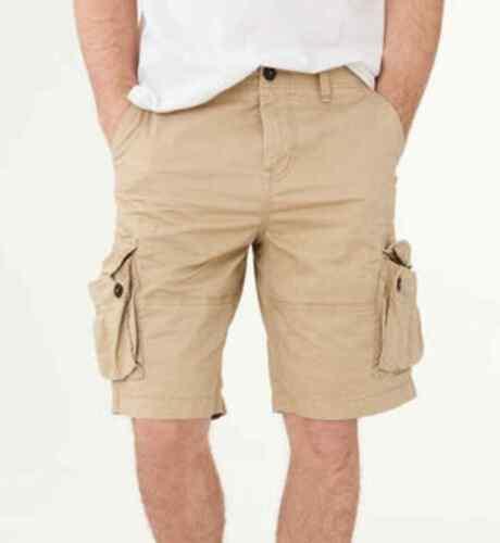 "Aeropostale Men/'s NWT 10.5/"" Twill Cargo Shorts"