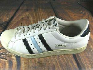 Fragua engranaje Generalmente hablando  Adidas Para Hombre Tenis Zapatos para hombre Blanco Azul Marino Wilhelm  Bungert Encaje 11M | eBay