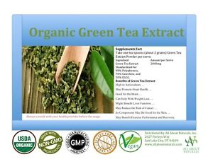8-OZ-Organic-Green-Tea-Extract-Powder-98-POLY-55-EGCG-Free-Shipping