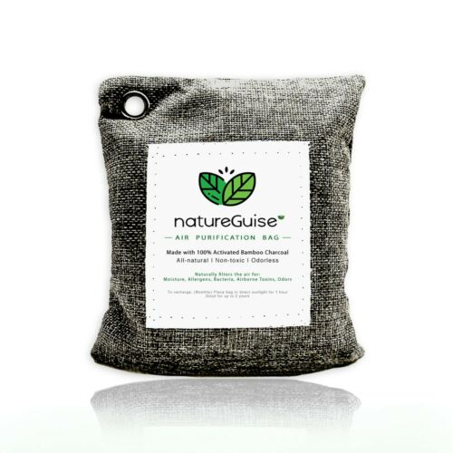 Activated Bamboo Charcoal Air Purifying Bag Deodorizer Neutralizer NatureGuise