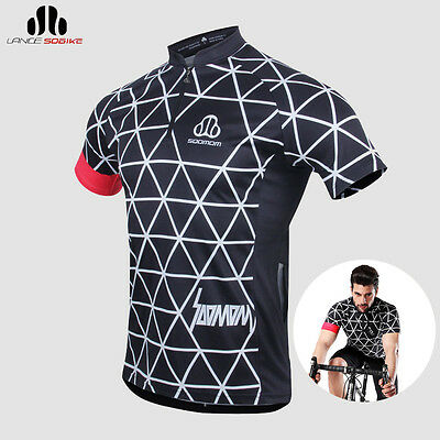 SOBIKE NENK Mens Summer Bike Short Sleeve Cycling Jersey Blue Cooree Size S-3XL