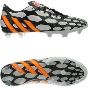Details zu Adidas Predator LZ TRX FG WC Herren Fußballschuhe schwarzweißorange WM Design
