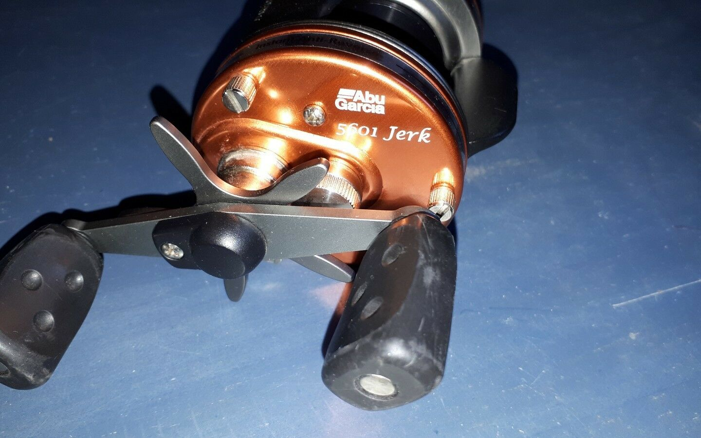 Abu Ambassadeur 5601 Jerk Made in Sweden neu Abu garcia 5601 Jerk in orange