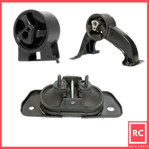 Motor /& Rear Trans Mount Set 3PCS for 2007-2010 Chrysler Sebring 2.4// 2.7// 3.5L