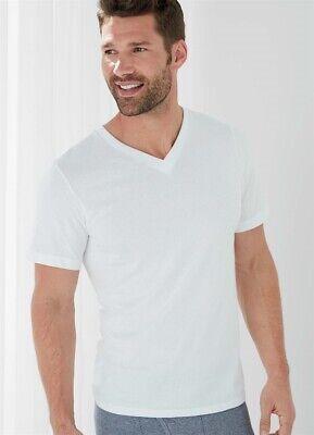 Jockey Men/'s V-Neck T-Shirts Classic Tag Free 100/% Cotton,4 Pack